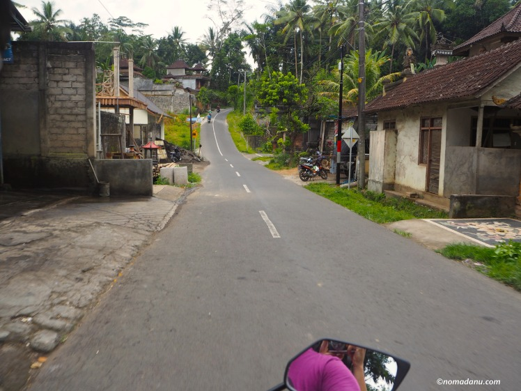 Driving around Ubud, Bali