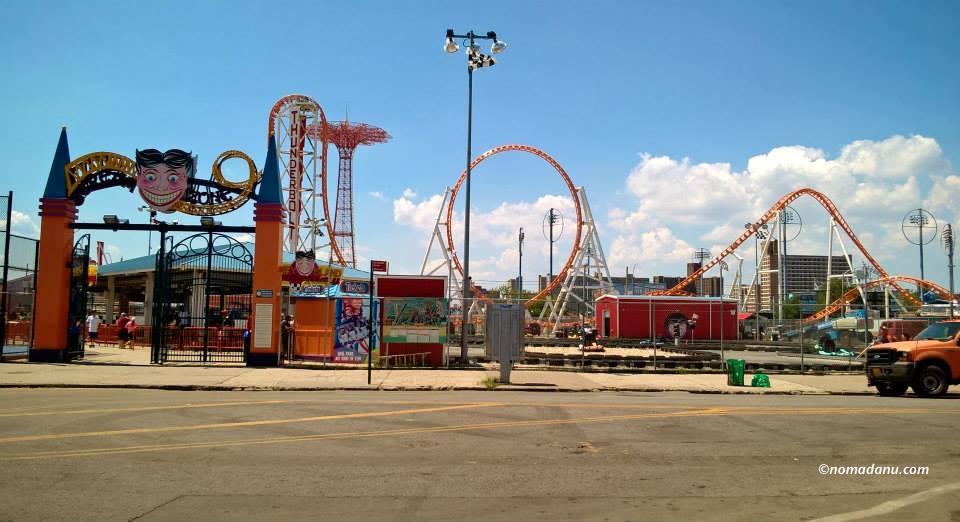 Luna Park in Coney Island
